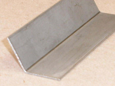 A-104 20 gauge roll formed stainless angle