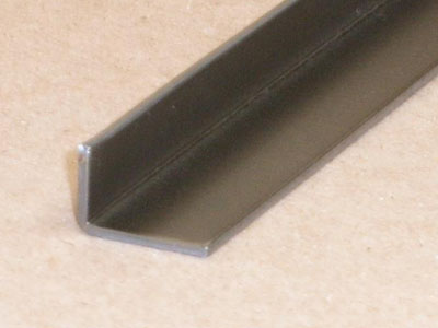 A-107 16 gauge roll formed stiffener angle