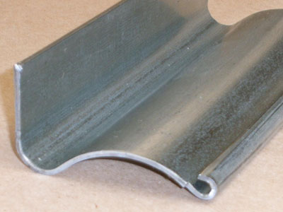 A-108 14 gauge roll formed latch plate angle channel