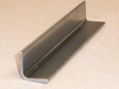A-110 11 gauge roll formed stainless angle