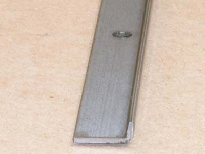 A-113 16 gauge roll formed angle with holes