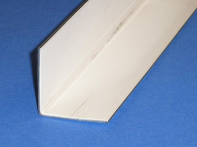 A-123 16 Gauge, Pre-painted Galvanized Steel Angle
