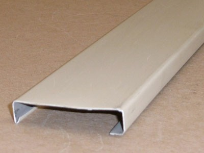 B-104 roll formed pre-painted aluminum batten cover