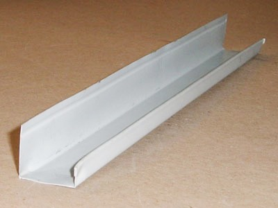 B-106 roll formed prepainted aluminum J trim