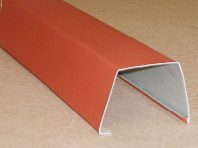 B-113 roll formed pre-painted aluminum high rib batten