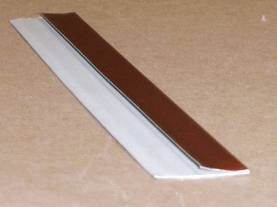 B-124 roll formed metal edge trim protector