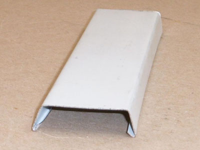 B-133 roll formed pre-painted metal batten cover