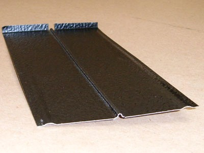 B-138 stamped metal painted roof tab