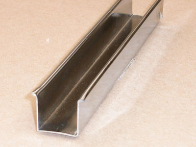C-101 20 gauge roll formed bed rail