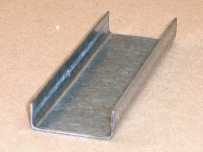 C-102 18 gauge roll formed galvanized channel