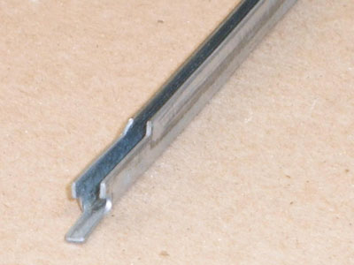 C-104 20 gauge roll formed galvanized channel