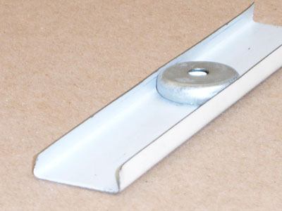 C-118 26 gauge roll formed steel edge trim