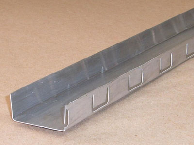 C-120 roll formed aluminum filter support channel