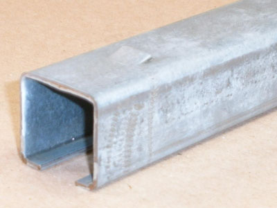 Cee-101 15 gauge roll formed cee-section Galv