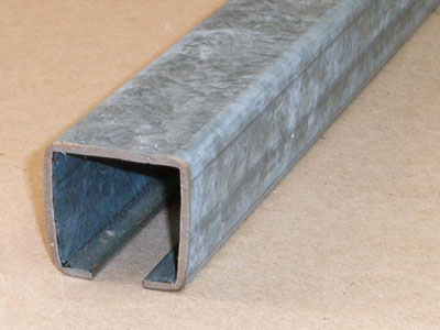 Cee-105 12 gauge roll formed galvanized cee-section