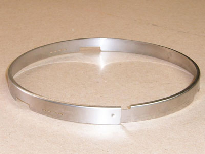 O-102 roll formed stainless meter ring