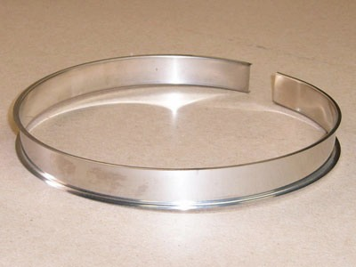 O-103 stainless roll formed flywheel retainer ring