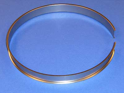 "O-110 0.008"" Stainless Steel Retainer Ring"