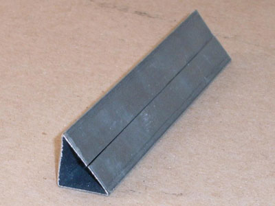 S-103 26 gauge roll formed triangular molding support