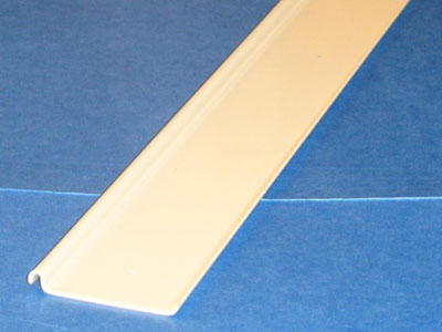 S-119 20 gauge roll formed painted price card channel