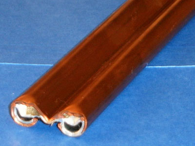 S-120 20 gauge roll formed copper and galvanized conductor bar