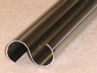 S-124 roll formed stainless S profile