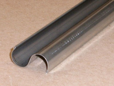 S-130 roll formed stainless S element with hem
