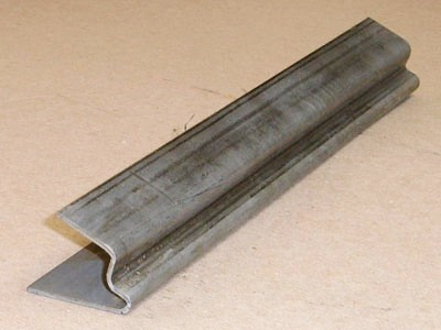 Z-108 12 gauge roll formed steel conveyor guide